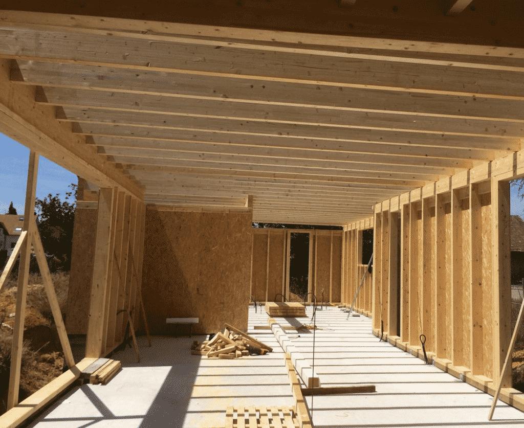 Maison d'habitation en bois