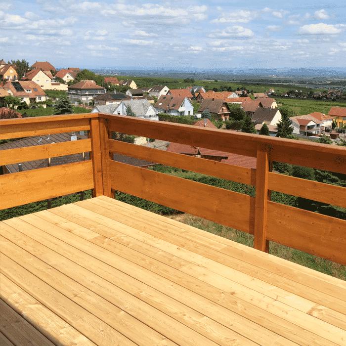 Terrasse bois fixation invisible