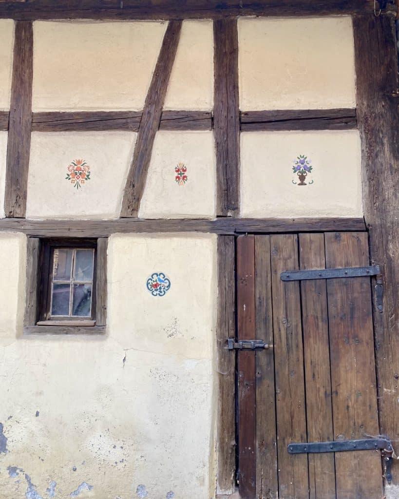 Maison à colombages à rénover