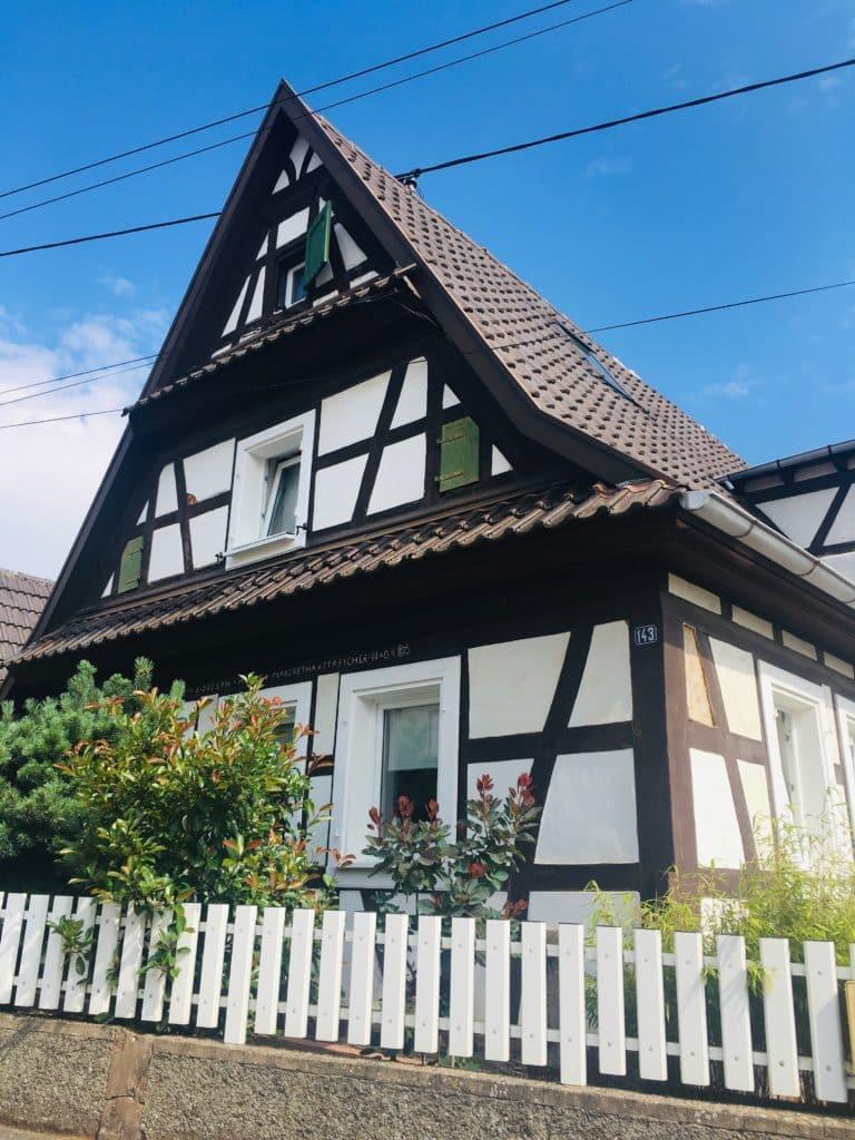 Maison à colombages Alsace