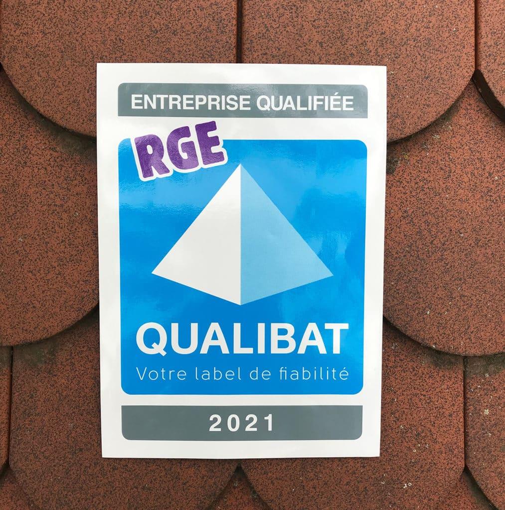 Qualibat RGE 2021