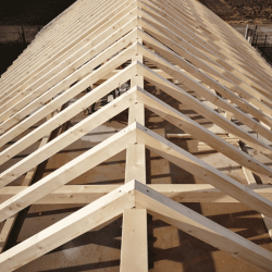 Charpente bois traditionnelle