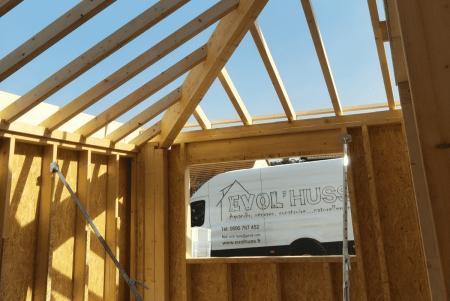 Charpente maison structure bois